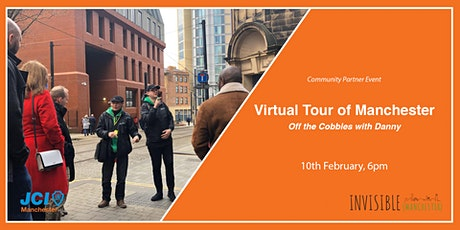 Virtual Tour of Manchester, Off The Cobbles tickets