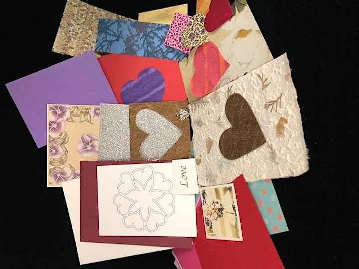PLUG iN TO MAKiNG  VALENTiNE'S CARDS  FOR MEALS ON WHEELS image
