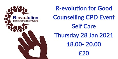 Counselling CPD Course - Self Care tickets