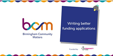 BCM: Writing better funding applications tickets