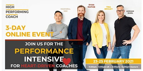 3-Day Performance Intensive for Heart-Driven Coaches (Online Workshop) tickets