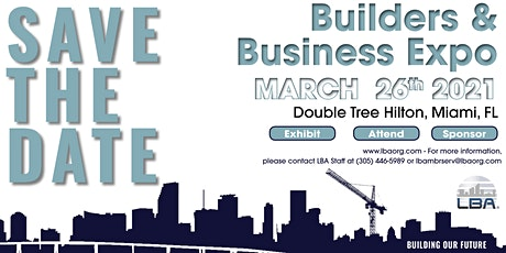 LBA Builders & Business Expo tickets
