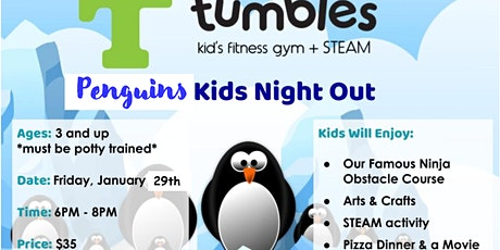 Penguins Kids Night Out tickets