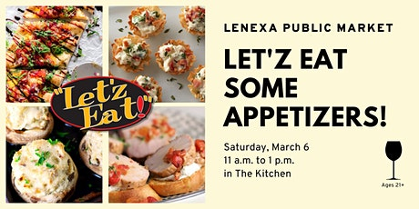 Let'z Eat Some Appetizers tickets