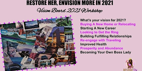 RESTORE HER, ENVISION MORE IN 2021 tickets