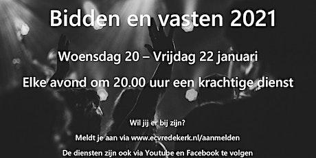 Bidden en vasten 2021 ECVredekerk tickets