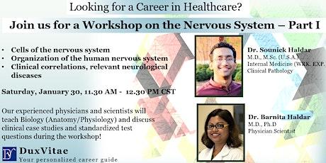 Workshop on the Nervous System – Part I for Healthcare Career tickets