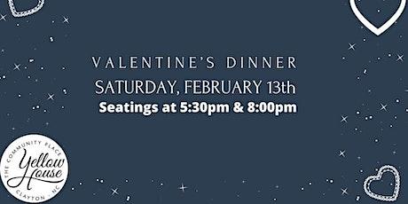 Valentines Dinner 8PM tickets