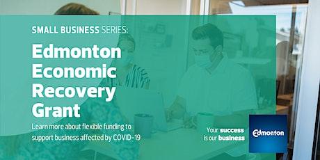 Edmonton Economic Recovery Grant Webinar tickets