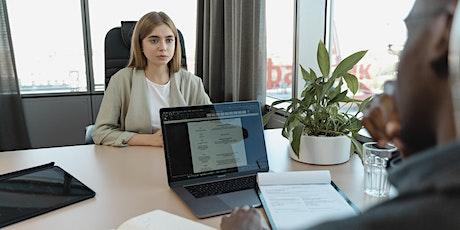 Asesoría en Diseño de Currículum Vitae  y Entrevista Laboral EXITOSA tickets
