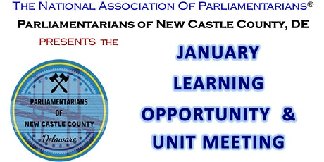 The Parliamentarians of New Castle County, DE-Learning Opportunity tickets