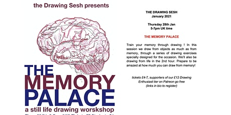 THE MEMORY PALACE - A DRAWING WORKSHOP tickets