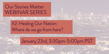 Healing Our Nation: Where do we go from here? tickets