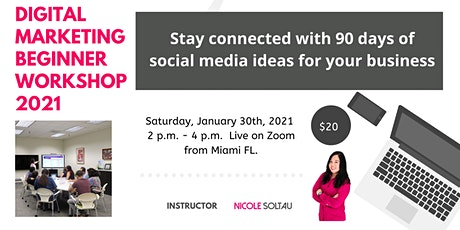 Stay connected with 90 days of social media content ideas for your business tickets