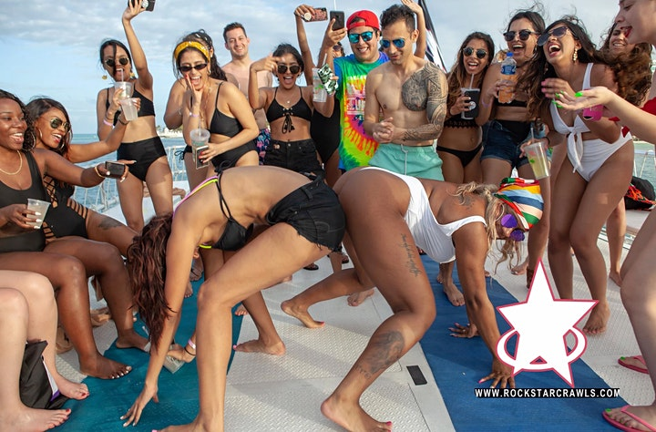 Hip Hop Sessions Rockstar Boat Party Cancun image
