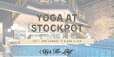 Yoga + Brunch at Stockpot tickets