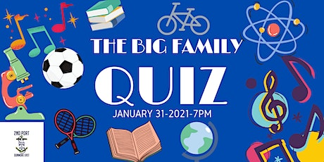 The BIG Family Quiz  for 2nd Port Dunmore East Sea Scouts tickets