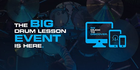 The BIG Online Drum Taster Lesson tickets