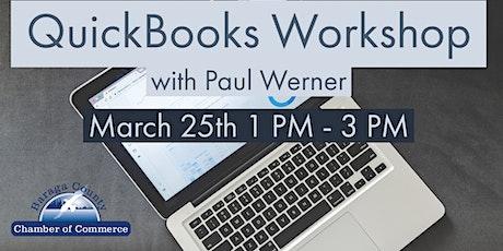 QuickBooks  Workshop tickets