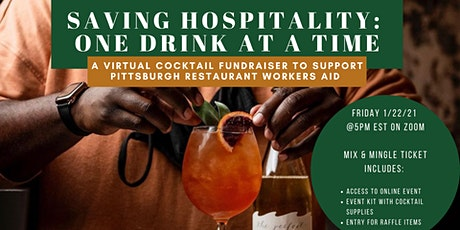 Saving Hospitality: One Drink at a Time tickets
