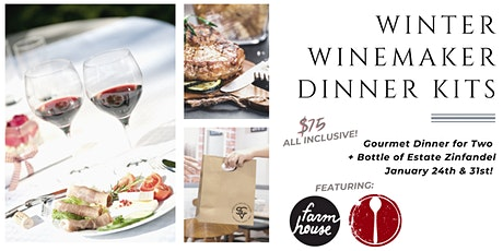 Winter Winemaker Dinner Kit:  Spoon Trade Jan. 24th  & Farmhouse Jan. 31st tickets