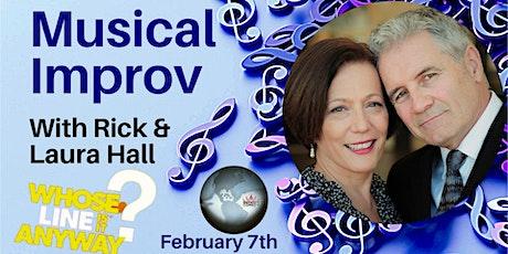 Rick & Laura Hall Musical Improv tickets