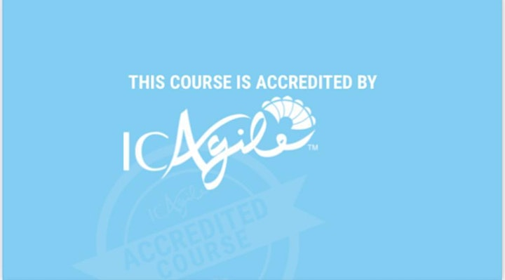 Leadership for Business Agility (ICAgile accredited) image