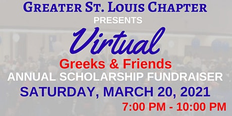 TSUAA -  Greater St. Louis - Virtual Greeks & Friends Scholarship Dance tickets