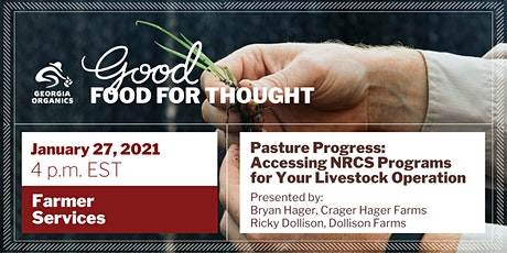 Pasture Progress: Accessing NRCS Programs for Your Livestock Operation tickets