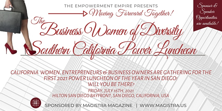 Business Women of Diversity  Southern California Power Luncheon image