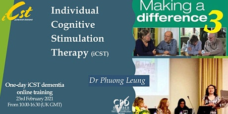Individual Cognitive Stimulation Therapy (iCST) in Dementia tickets