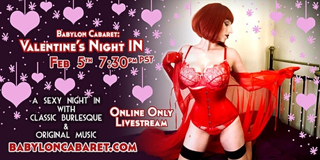 Babylon Cabaret: Valentine's Night IN tickets