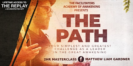 THE PATH Masterclass (REPLAY SCREENING) tickets