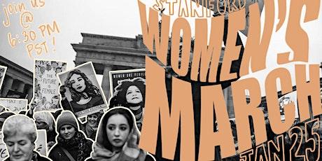 2021 Stanford Women's March tickets