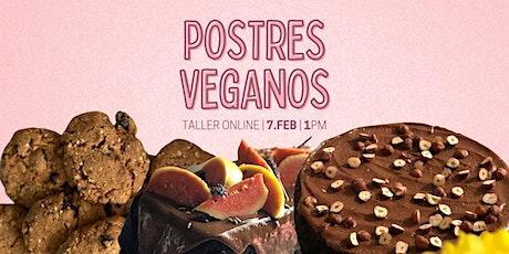 Postres Veganos y Sabrosos boletos