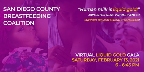 SDCBC Virtual Liquid Gold Gala tickets