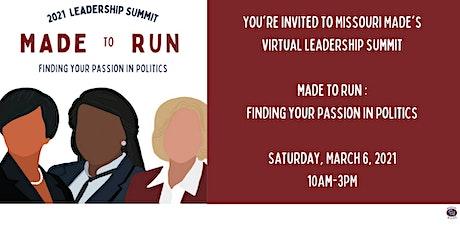 MADE to Run Leadership Summit tickets