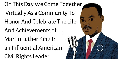 ICC's Dr. Martin Luther King Jr. Virtual Celebration tickets