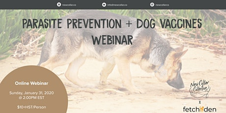 New Collar Collective x Fetchden - Dog Vaccine & Parasite Prevention tickets