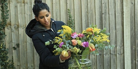 Flower arranging Fridays! An ONLINE class with kit sent to you in the post. tickets