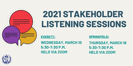 2021 Stakeholder Listening Session: Springfield, Massachusetts tickets