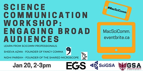 Science Communication Workshop 1 tickets