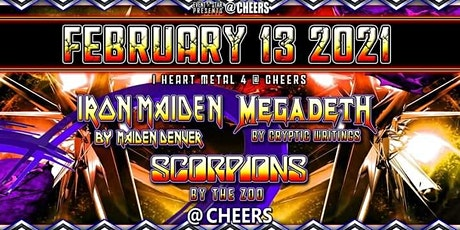 Iron Maiden / Megadeth / Scorpions / Tribute Bands tickets