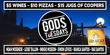 Gods Tuesdays -  January 19th, 2021 tickets