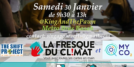Fresque du climat + bilan carbone myCo2 tickets