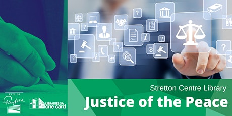 Justice of the Peace Times (Stretton Centre Library) tickets