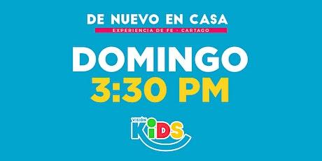 Kids Cartago. Experiencia de Fe  3:30pm entradas