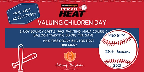 Valuing Children Day @ Perth Heat tickets