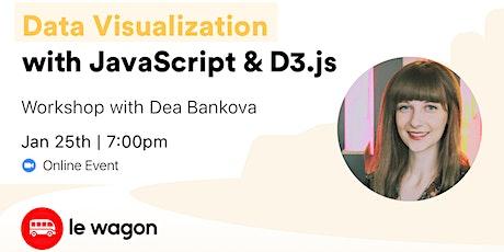 Data Visualization with JavaScript & D3.js - Online Workshop tickets
