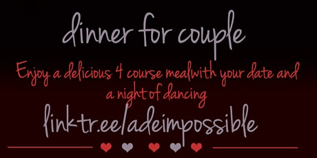 Valentines Day Romantic Dinner and Dance Party tickets